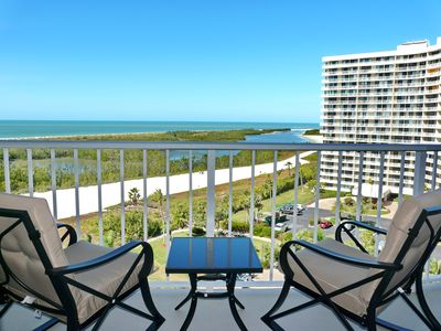 Photo for Breezy beachfront condo w/ unmatched views & heated pool