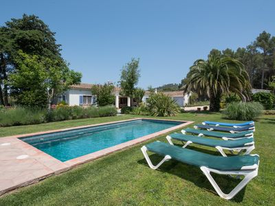 Photo for Colonial situated house with very big garden and private pool