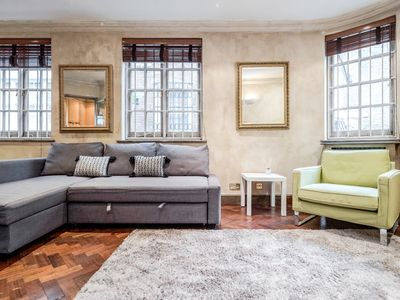 Photo for ✪ Charming Flat in Private Mews in Knightsbridge ✪