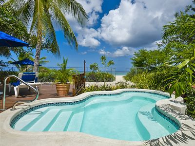 Photo for Exclusive 3 Bedroom Barbados Beachfront Villa with pool