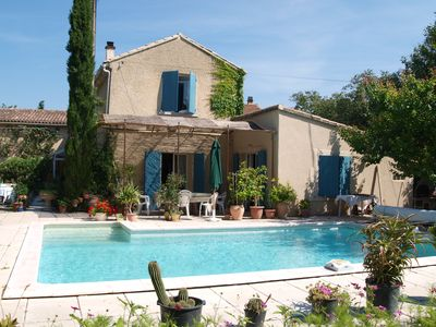 Photo for Authentic farmhouse in Provence, in the countryside, near Avignon and the Luberon.