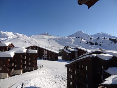 Photo for BEAUTIFUL PLAGNE 2050 building BERYL duplex 52 m2, ski in ski out