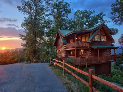 Photo for Save 10% on Summer Stays | Luxury cabin with wrap around veranda and breathtaking views