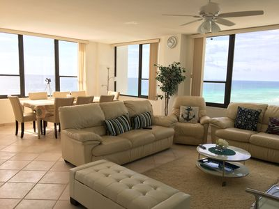 Photo for Beautiful real oceanfront 2+2 southeast unit with mesmerizing views