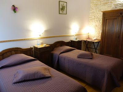 Photo for CHARMING B & B at the gates of La Rochelle and Marais Poitevin