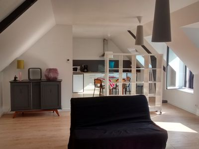 Photo for Apartment of 60 m2 - district Saint Enogat - Dinard
