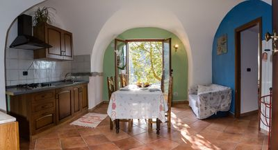 Photo for Apartment with garden and private barbecue - Agriturismo A Ca Vegia