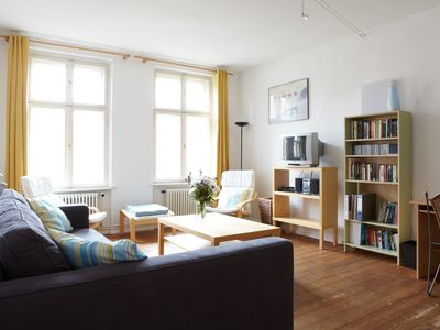 Photo for Charming apartment in an old, fully renovated building in central Berlin
