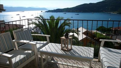 Photo for Cinque Terre/Portovenere Beach Apartment with Great Views