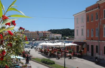 Photo for Stunning 3 bed 3 bath apartment in heart of Old Town Rovinj with terrace and a/c