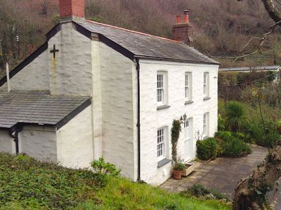 Photo for NEW 2020, Idyllic Cottage in Polkerris,  by the beach, sea views, near Fowey.