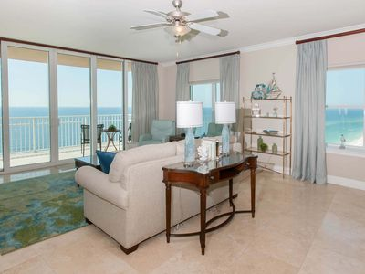 Photo for 4/4 Condo, Slps 10, Pvt Blcny, Jet Tub, W/D, Pool, HT, Free Activities - Crystal Shores West 1404