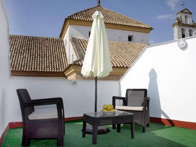 Photo for Spacious Santa Ana apartment in Córdoba with WiFi, integrated air conditioning & shared terrace.