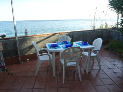 Photo for Taormina Sea Home wonderful apartment on the sea ..