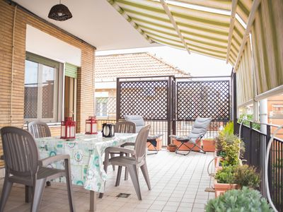 Photo for Ostia Lido Apartment with a very bright terrace