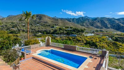 Photo for Villa surrounded by mountains in Nerja