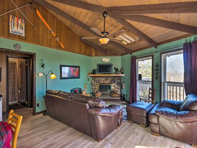 Photo for Ski Condo w/ Deck & View - 0.5 Mile to Beech Mtn!