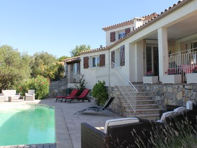 Photo for Detached Villa With Private Pool Overlooking Vineyard