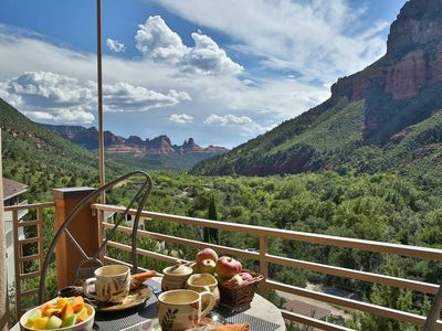 Photo for Sedona's World Famous Oak Creek Canyon-180 VIEWS-3 Grand Master Suites/3BA-VIEWS