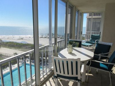 Photo for Gorgeous Beachfront 2B/2B Vacation Condo at Creciente w/View of Gulf and Pool!