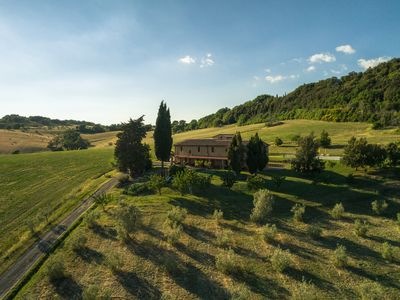 Photo for Organic Farmhouse - apartments with swimming pool, garden, parking, wifi