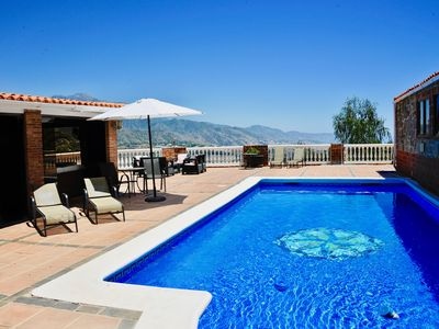 Photo for Newly Renovated  Villa with stunning views, private pool & tennis court