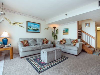 Photo for Stunning ocean views from this two story unit!