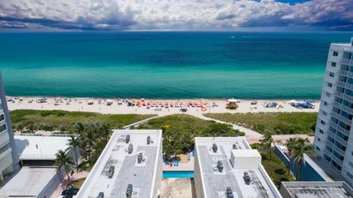Photo for ON THE BEACH, 1BR SUITE, DIRECT BEACH ACCESS