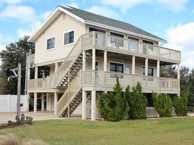 Photo for #4004: OCEANSIDE Home in Corolla w/PRVTPool & HotTub, DogFriendly