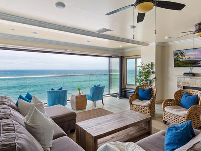 Photo for Beautiful Beachfront Home, Designer Decorated with A/C