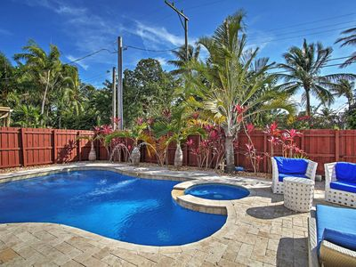 Photo for Hollywood House w/ Private Heated Pool & Hot Tub!