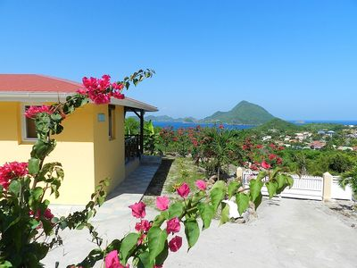 Photo for HOLY low earth VILLA T3 with a 180 ° view over the bay ***
