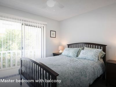 Photo for Sunnyside Up Townhome B One Block to the Beach