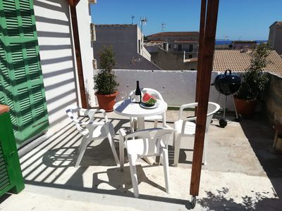 Photo for SUNNY FLAT WITH TERRACE 350 METERS TO PORTO CRISTO SANDY BEACH