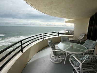 Photo for Direct Oceanfront. Largest Balcony in Daytona Beach!!