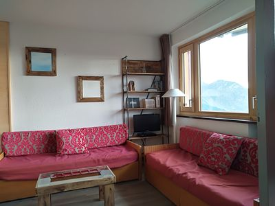 Photo for Avoriaz - Renovated 2 room apartment in the center of the resort