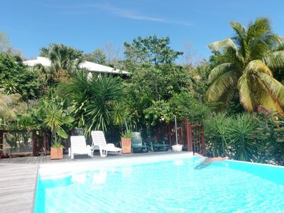 Photo for Naturist apartment located in Guadeloupe, Caribbean, a few steps from the sea
