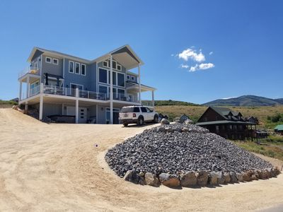 Photo for NEW LISTING AND CONSTRUCTION! HARBOR VIEW LAKE HOUSE OVERLOOKING MARINA!