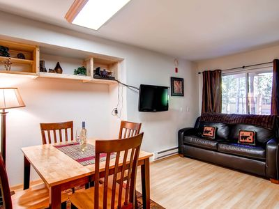 Photo for 7th Night Free! Ground Level Efficiency, Walk to Chair Lift & Main Street, Wi-Fi