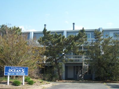 Photo for Dewey Beach, Delaware Ocean Block Townhome Steps From The Beach And Bay!!