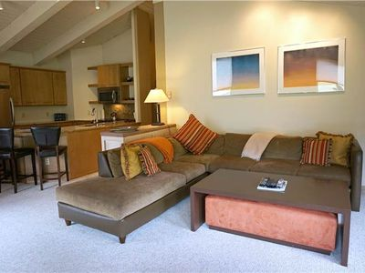 Photo for Ski-In/Ski-Out Spacious 3 Bedroom Condo, Private Deck, Hot Tub and Heated Pool Access