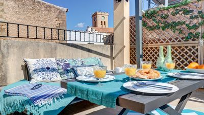 Photo for Central townhouse with heating, Wifi & air con - House for 4 people in Pollensa / Pollença