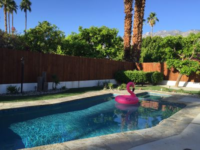 Photo for New, Modern, Family Friendly Palm Springs Oasis of Luxury!