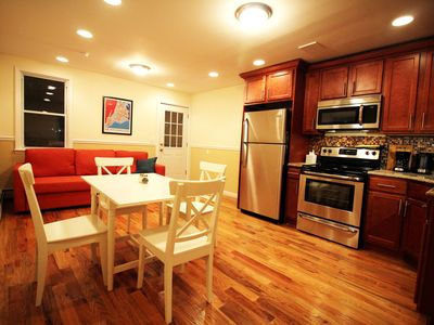 Photo for Sunny Quiet 2-Bedroom Apartment Near the Subway, with 2 Balconies! (60 days min)
