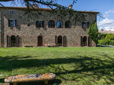 Photo for 12 bedroom Villa, sleeps 24 in Torrenieri with Pool and WiFi