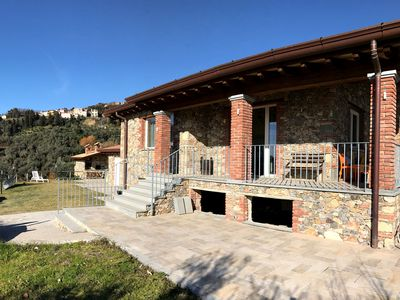 Photo for Sassaiola, 4 bedrooms Villa with private swimming pool