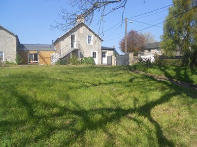 Photo for Large family home with garden in the countryside next to Omaha Beach