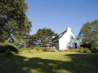 Photo for Ile aux Moines: Great Quiet house with sea view, 200 m from the beach