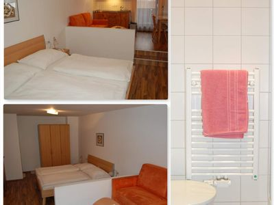 Photo for Top 5 apartments / 1 bedroom / shower, WC - Gästehaus Edelweiss