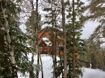 Cabin in the Pines.